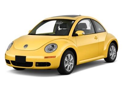 Image: 2010 Volkswagen New Beetle Coupe 2-door Man Angular Front Exterior View, size: 1024 x 768 ...