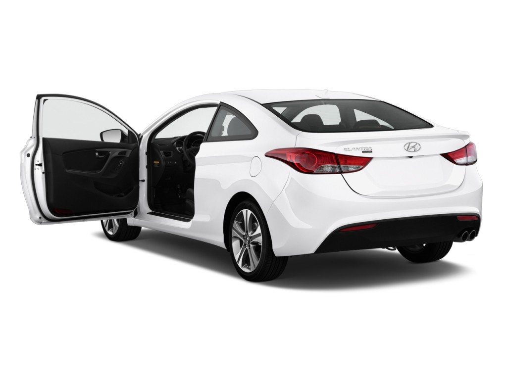 Two Door Cars 2013 Hyundai Elantra Coupe Pictures Photos Gallery Green