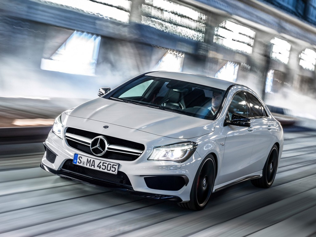 Mercedes Cla45 Amg 2014 Mercedes Benz Cla45 Amg Leaked Gallery