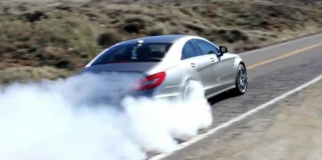 Car Burnout Live Wallpaper Video 2012 Mercedes Benz Cls 63 Amg Burnout