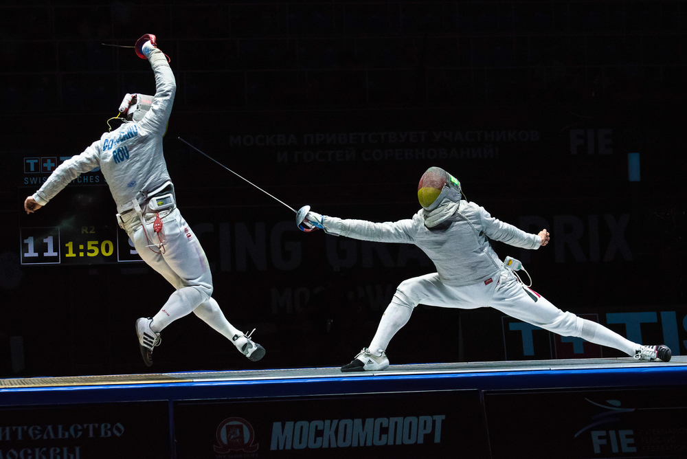Black Black Wallpaper The Science Behind The Olympic Sport Of Fencing