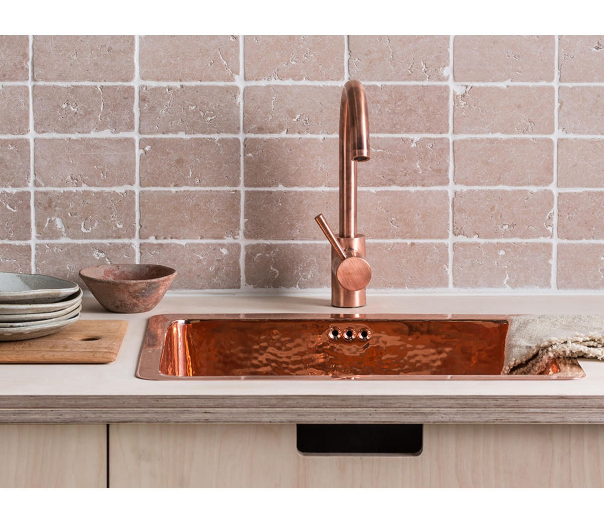 Copper Taps Copper Mixer Tap High Swivel Spout The French House