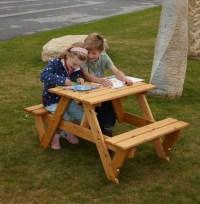 Childrens Garden Picnic Bench - The Garden Factory