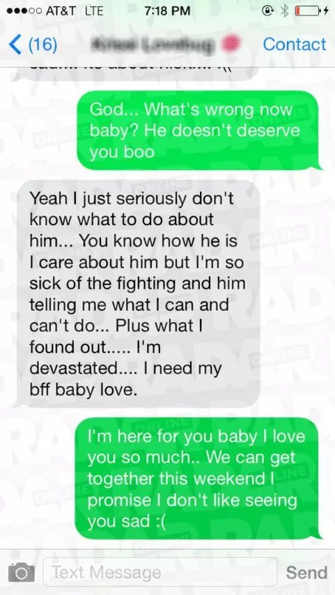 Cute Couple Fighting Wallpaper Bobbi Kristina Brown Final Text Messages Reveal Fear Of