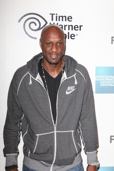 Lamar Odom Red Carpet Photo