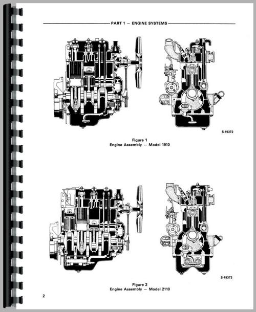 Ford 1910 Tractor Parts Wiring Schematic Diagram