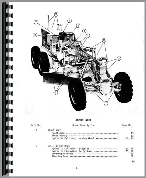 wiring diagram motor grader caterpillar 12f no 12f mtr grader