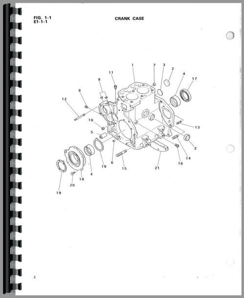 Mitsubishi Tractor D3000 Schematics Wiring Diagram