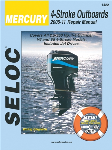 Mercury Outboard Manuals Service, Shop and Repair Manual for 2005