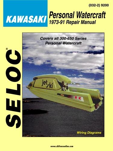Kawasaki Jet Ski Manuals 300, 440, 550, 650, Jet Mate, and SC