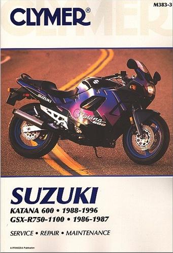 Suzuki Motorcycle Manual (Katana 600 - GSXR750 - GSXR1100) Service