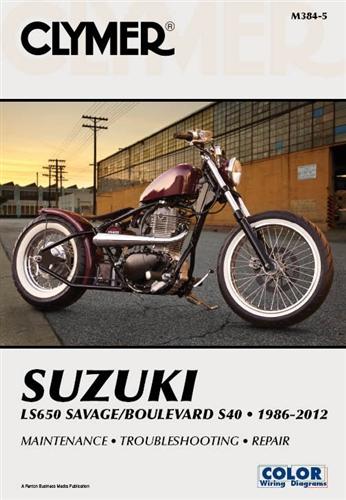 Suzuki Boulevard S40 - Savage LS650 Manual Service Repair Owners