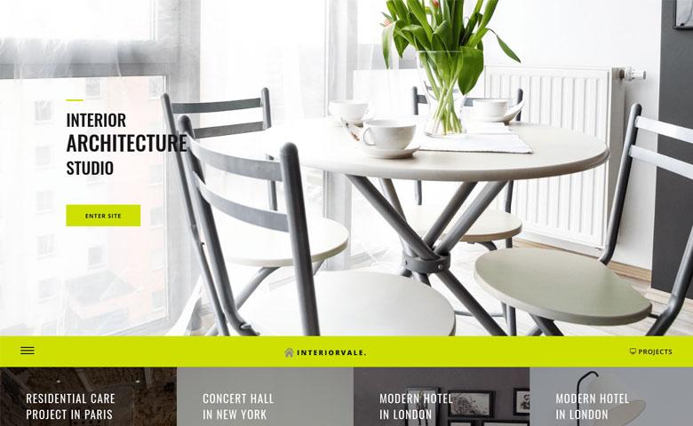 Interiorvale - HTML5 Interior Design Website Template ThemeVault