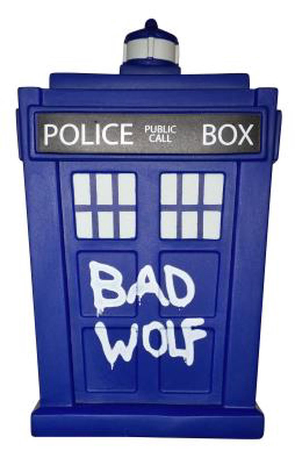 Vinylboden Bad Titan Merchandise Doctor Who Bad Wolf Tardis Titans 6 5 Inch Vinyl Figure