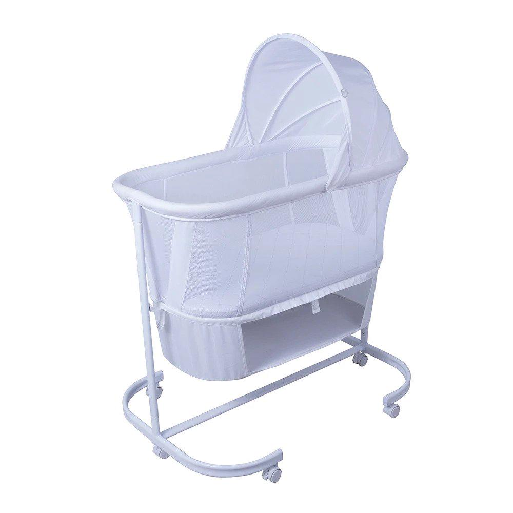 Oyster Max Bassinet Childcare Harlo Bassinet White Buy Online At Tiny Fox