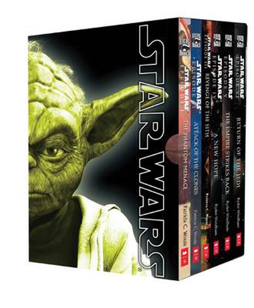 Jedi Lighting Nz Star Wars Movie Novel Box Set By Patricia C. Wrede