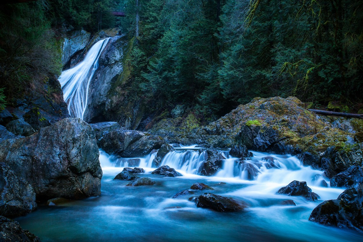 4k Fall Mountain Wallpaper Hike And Swim Twin Falls Twin Falls Trail