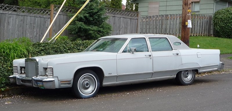 Curbside Classic 1977 Lincoln Town Car - The Truth About Cars