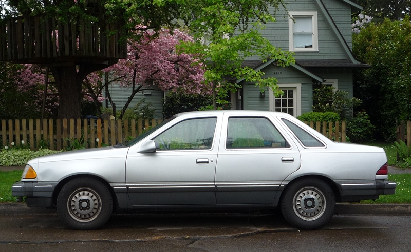 Curbside Classic 1986 Ford Tempo - A Deadly Sin? - The Truth About Cars