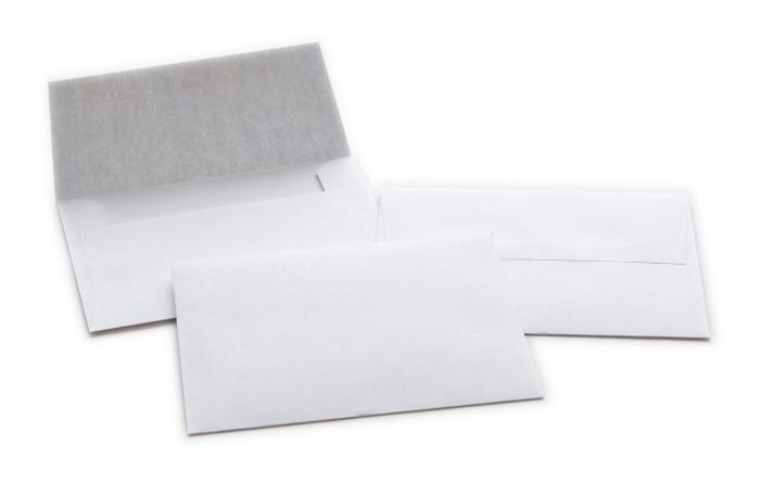 Envelope 24lb White Wove 4375\ - envelope a2