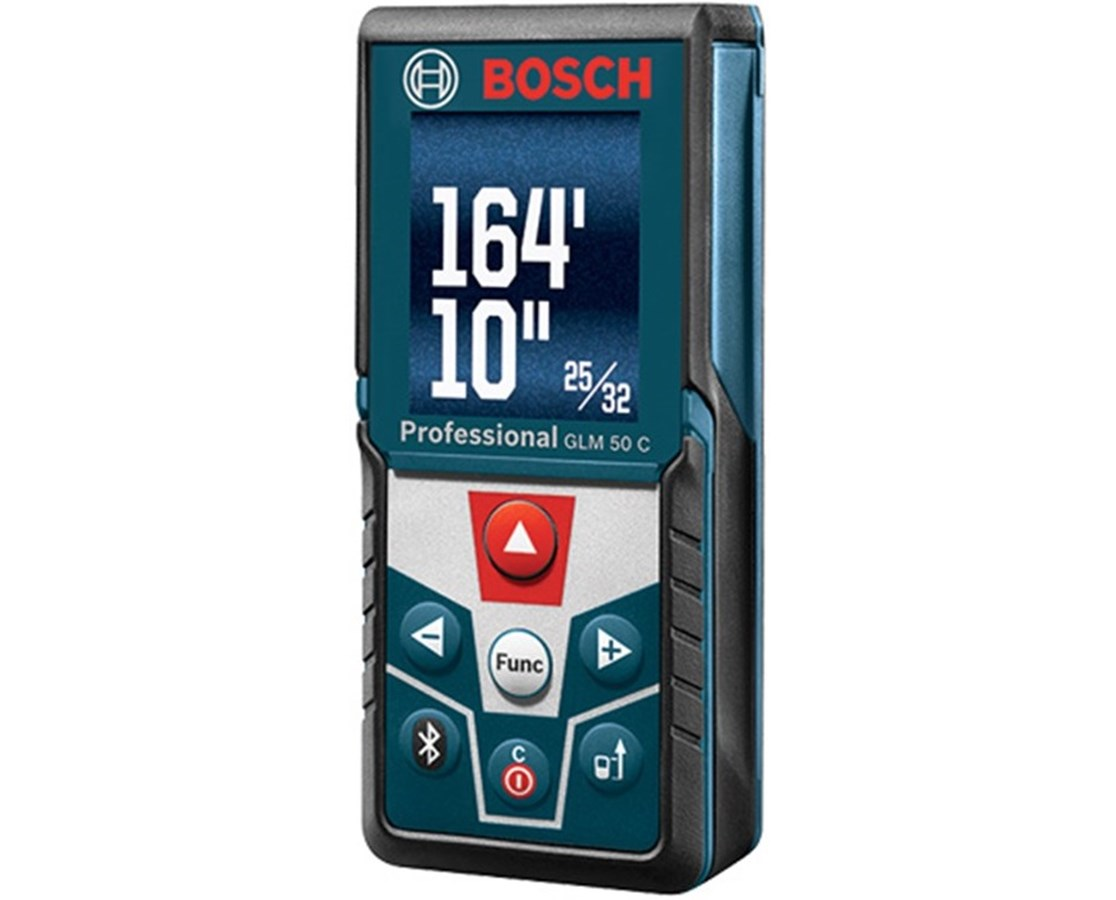 Bosch Afstandsmeter Bosch Glm 50 C 165 39 Laser Distance Meter With Inclinometer