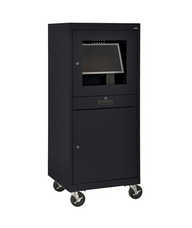 Sandusky Lee Mobile Security Computer Cabinet Tiger Supplies