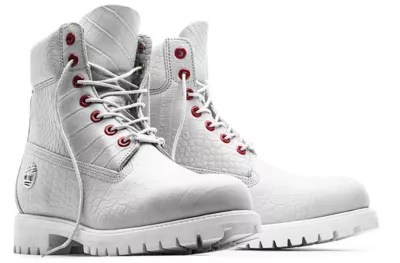 Limited Release White Serpent 6 Inch Waterproof Boots