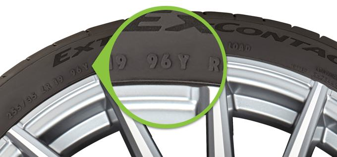 How to read speed rating and load index TireBuyer