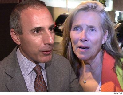 Meredith Vieira's Husband Says She Wasn't Offended by Matt Lauer in 2006 Video | TMZ.com