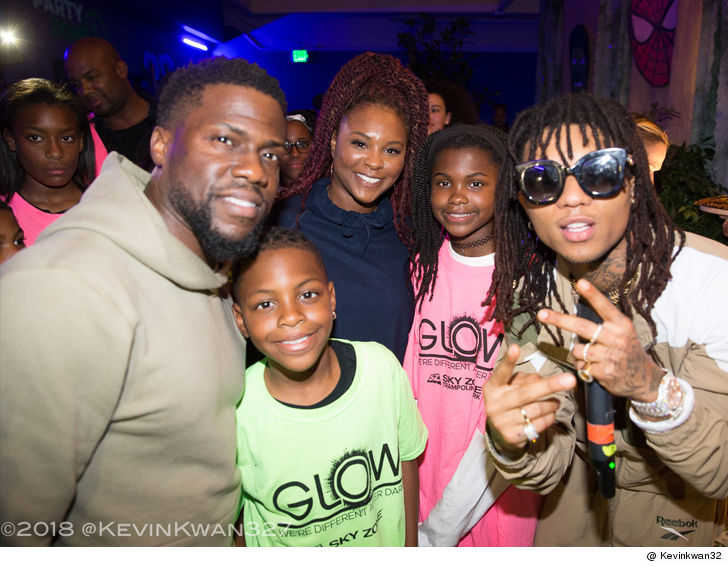 Kevin Hart and Ex-Wife Throw Daughter \u0027Black Panther\u0027-Themed