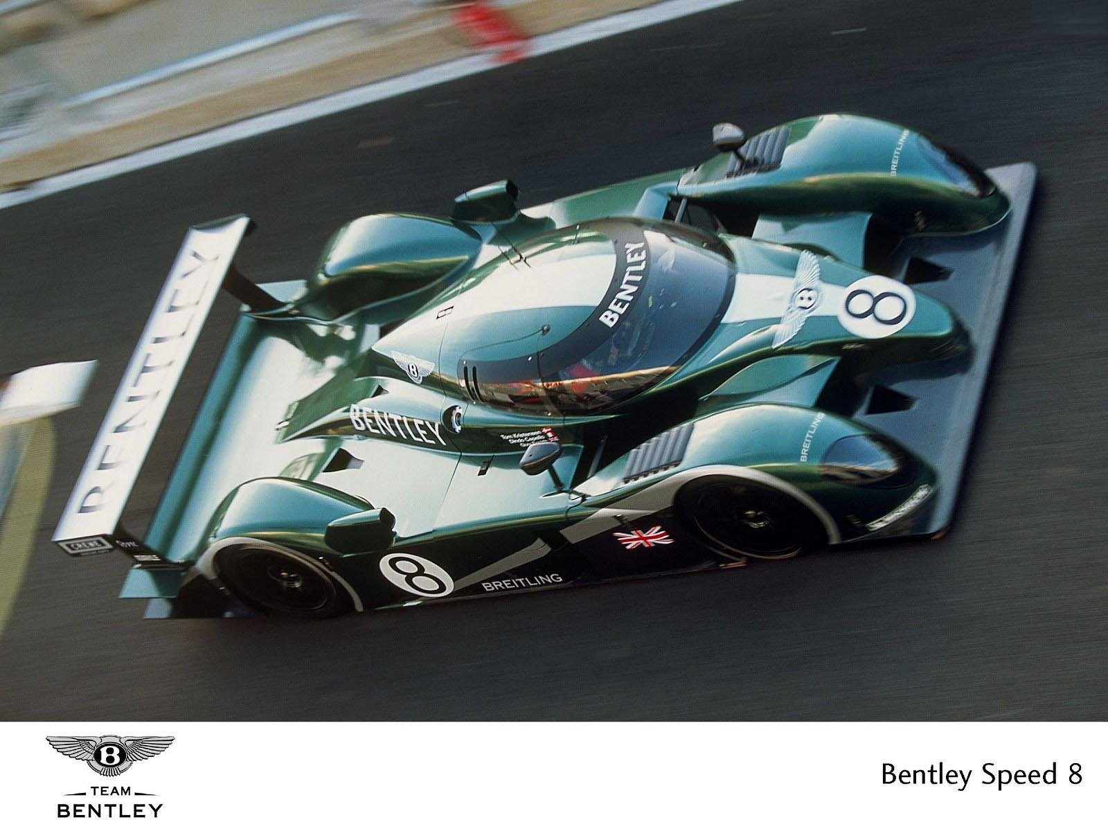 Car Racing Flag Wallpaper Bentley Speed 8 Group Gtp 2003 Racing Cars