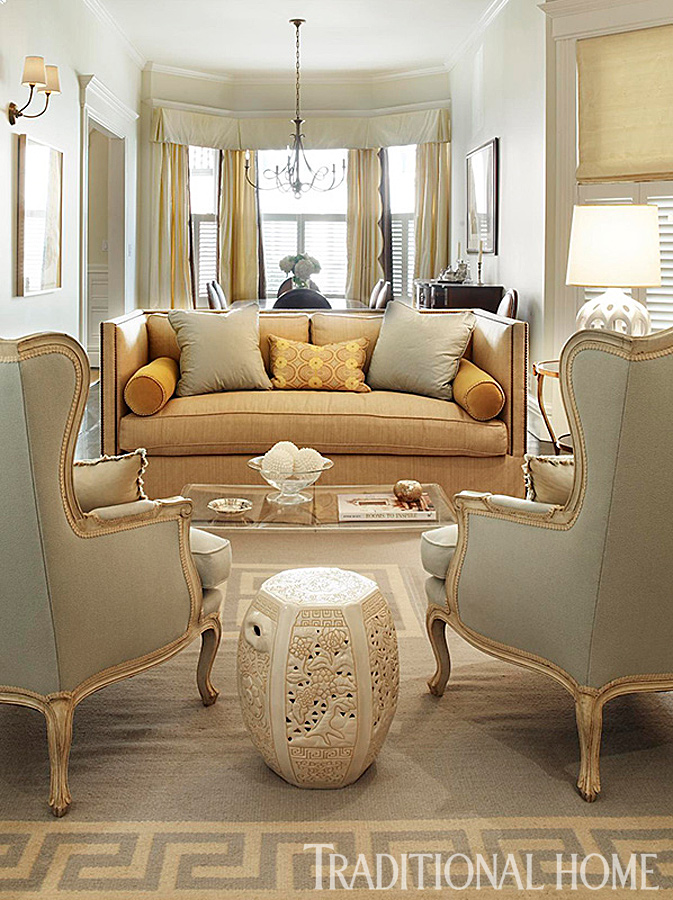 Designer Couch Storage Inspiration For Small Spaces | Traditional Home