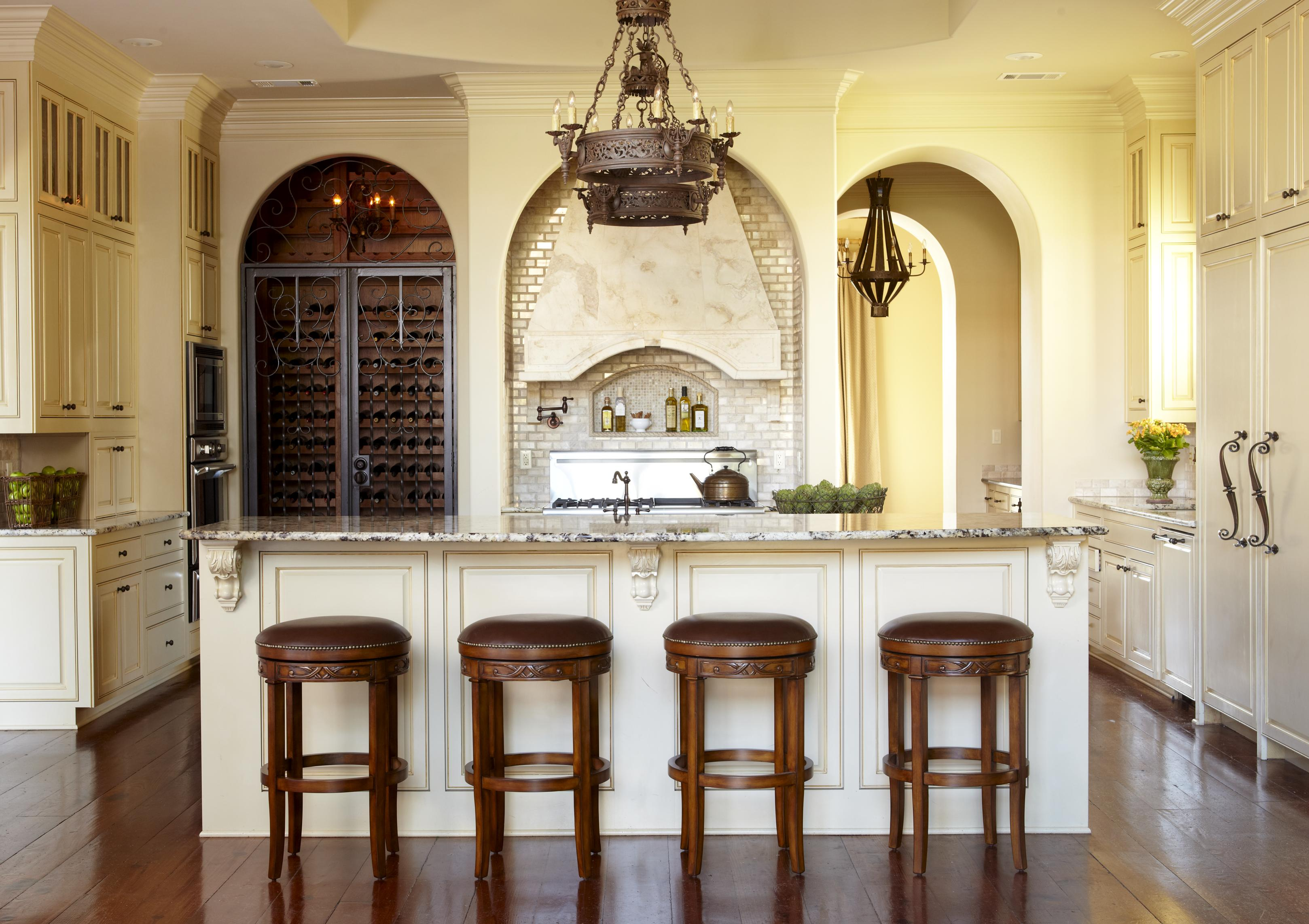 Modern French Farmhouse Exterior Country French Kitchens Traditional Home