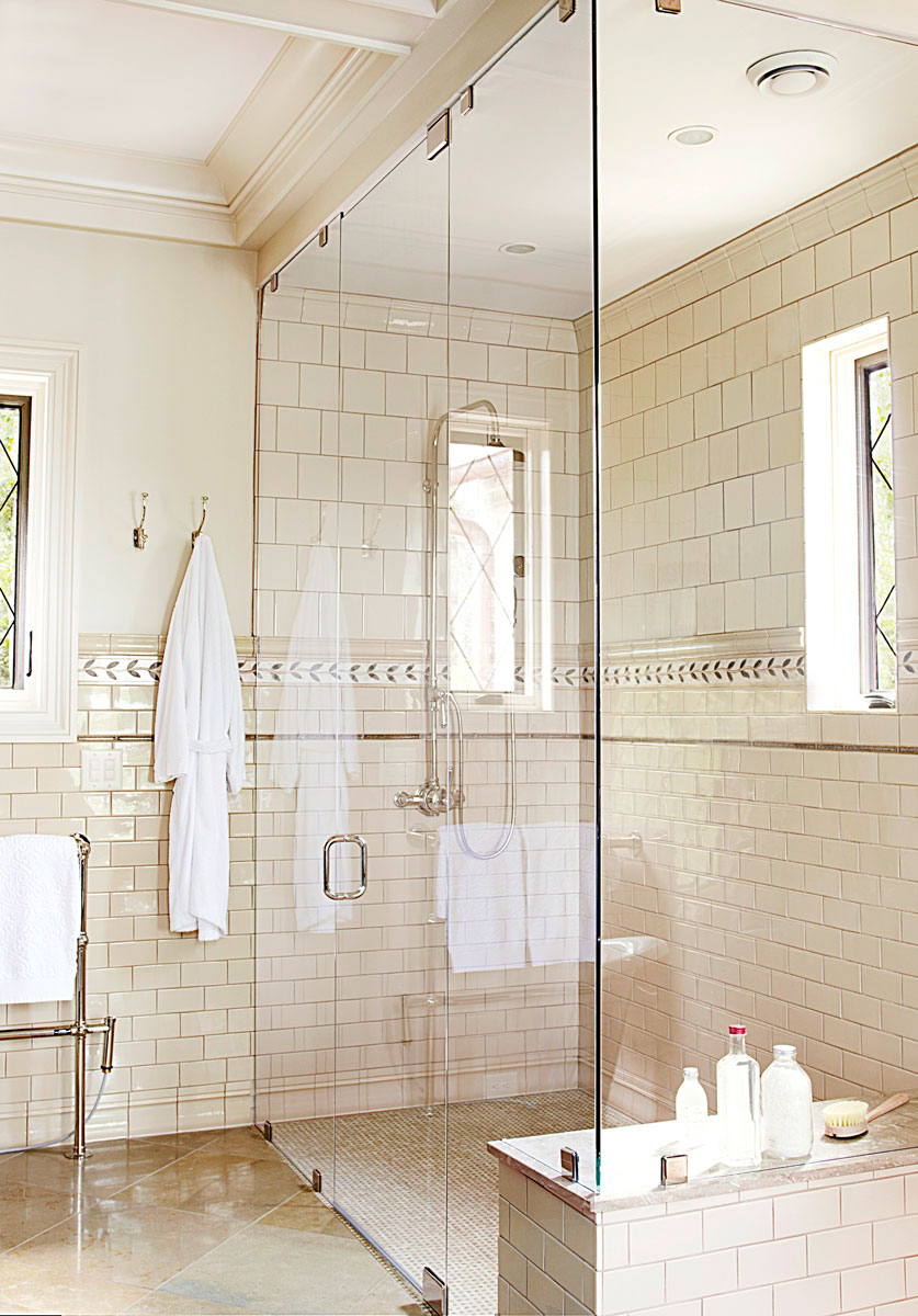 Bath With Shower Mind Blowing Master Bath Showers Traditional Home