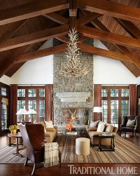 Sophisticated Family Cabin in the North Woods ...