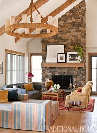 Modern, Rustic Mountain Home | Traditional Home