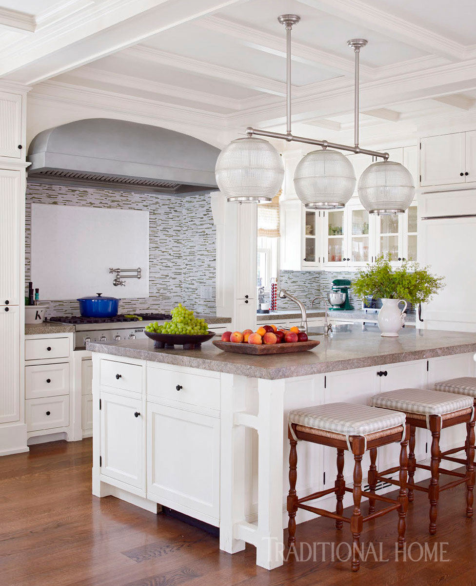 Hamptons Kitchens Hamptons Kitchen Great For Entertaining Traditional Home