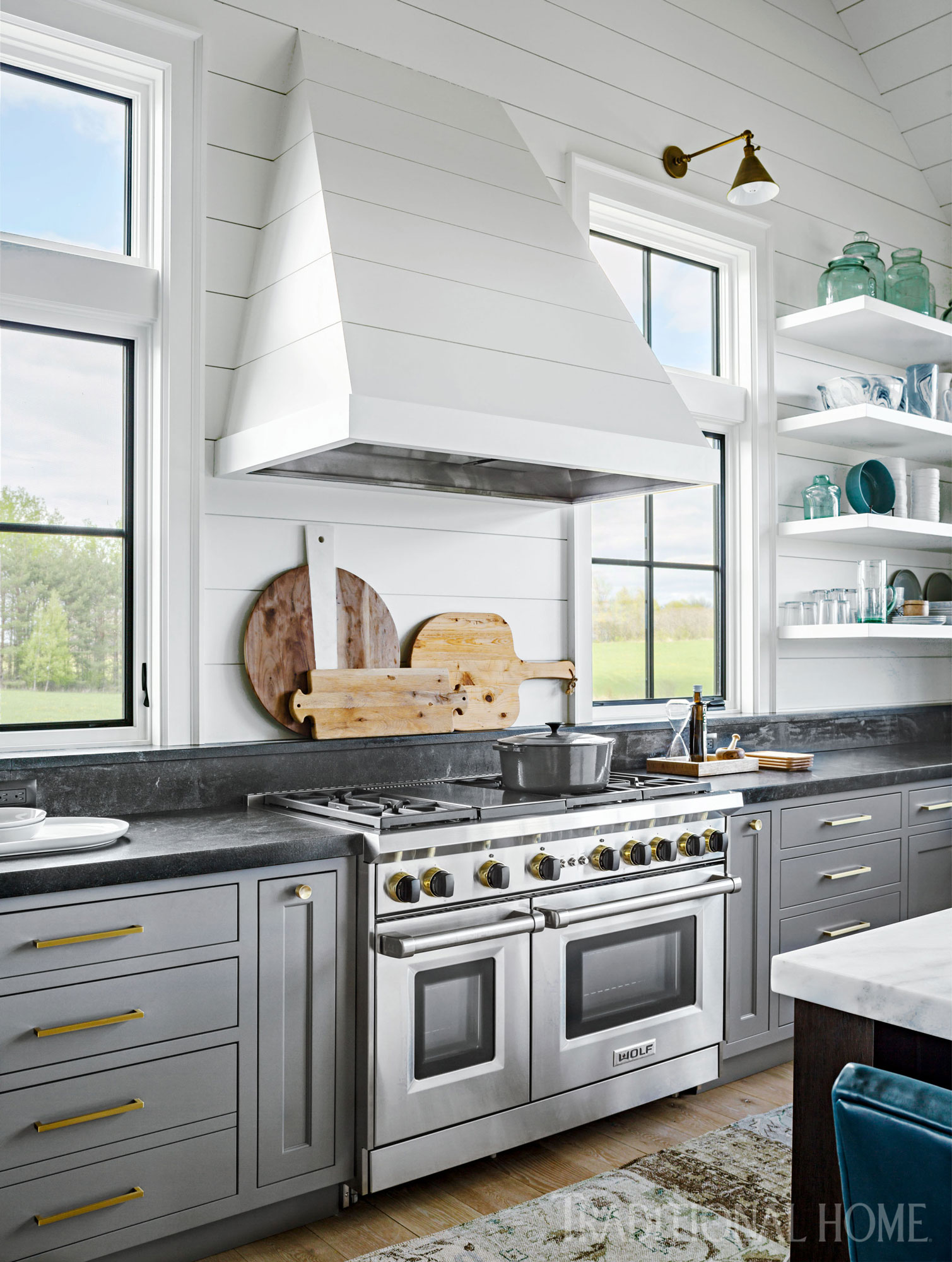 House Kitchen Interior Design Pictures Vermont Home With Beautiful Farmhouse Style Traditional Home