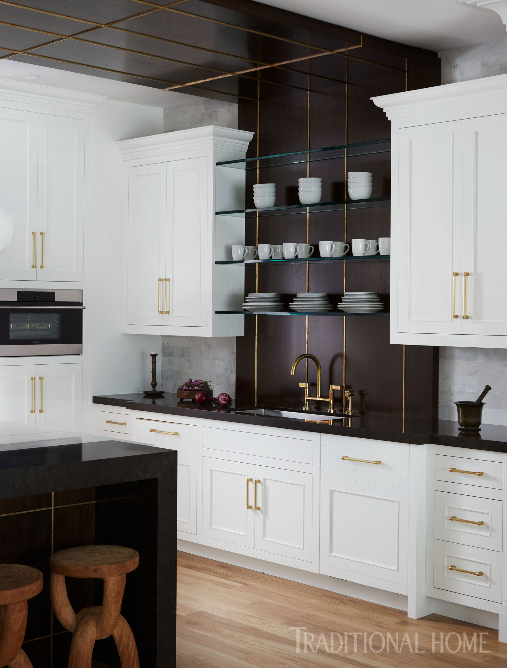 Hamptons Kitchens Striking Hamptons Showhouse Kitchen Traditional Home
