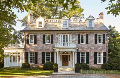 Nashville Home with Pretty Color and Pattern | Traditional ...