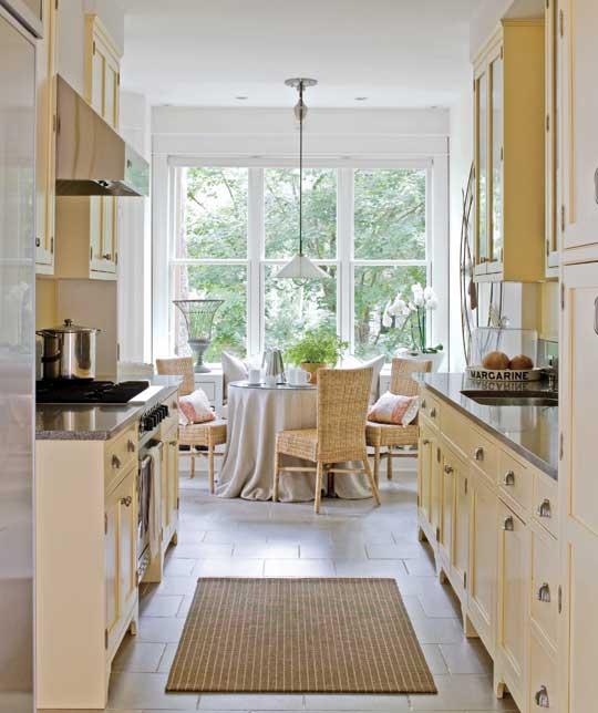 Beautiful, Efficient Small Kitchens Traditional Home - small kitchen design ideas photo gallery