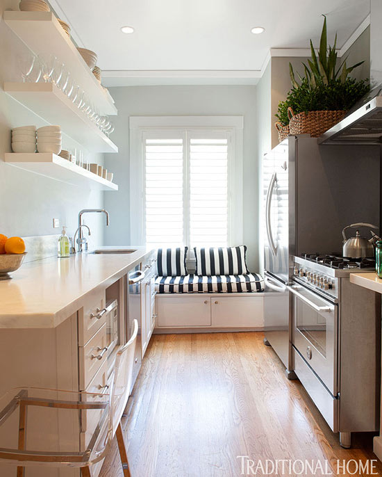 Beautiful, Efficient Small Kitchens Traditional Home - small kitchen ideas pictures