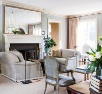 Elegant Living Rooms in Neutral Colors   Traditional Home