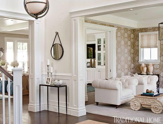 At Home with Bill and Giuliana Rancic Traditional Home - home design magazines