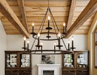 Farmhouse-Style Lighting | Traditional Home