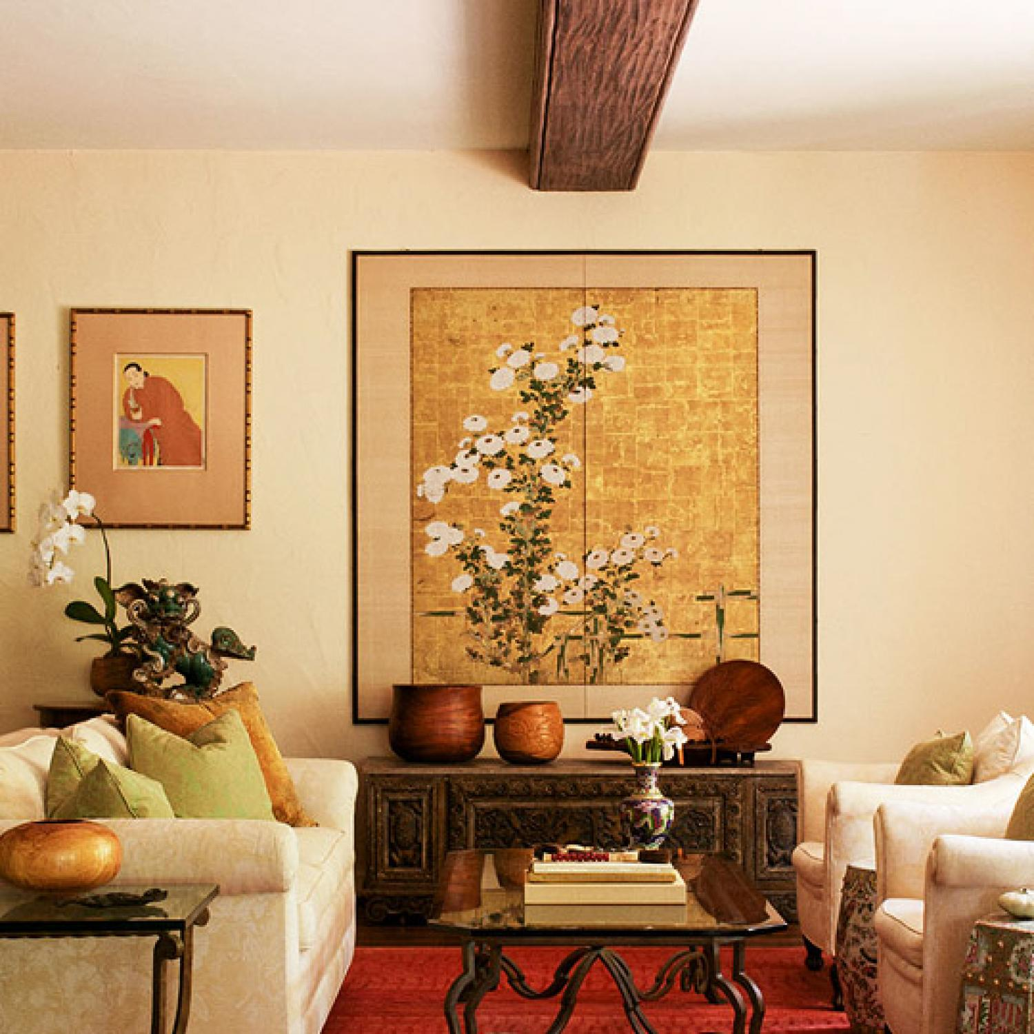 Japanese Decorating East Meets West Hawaiian Home Traditional Home
