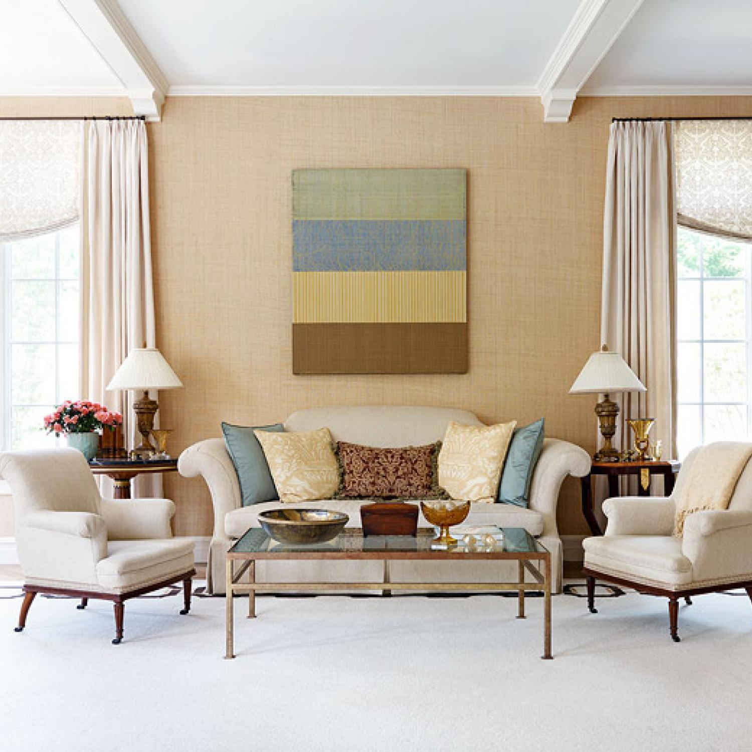 Decorating Ideas Elegant Living Rooms Traditional Home - Decorating Ideas For Living Rooms