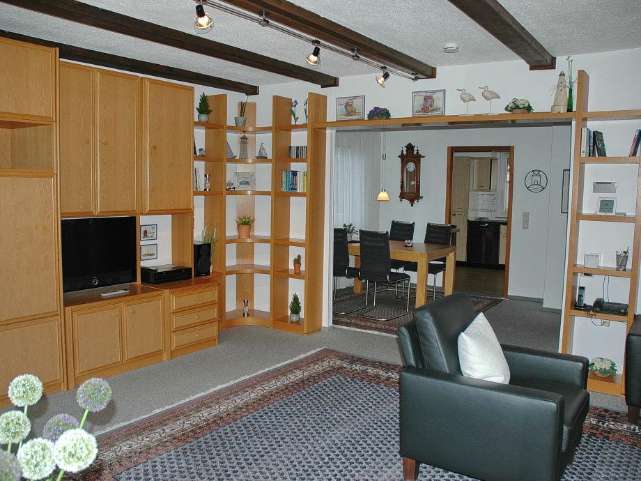 Ferienhaus Kalveram Norderney   5 Raum Wohnung Im Erdgeschoss   Esszimmer  Norderney