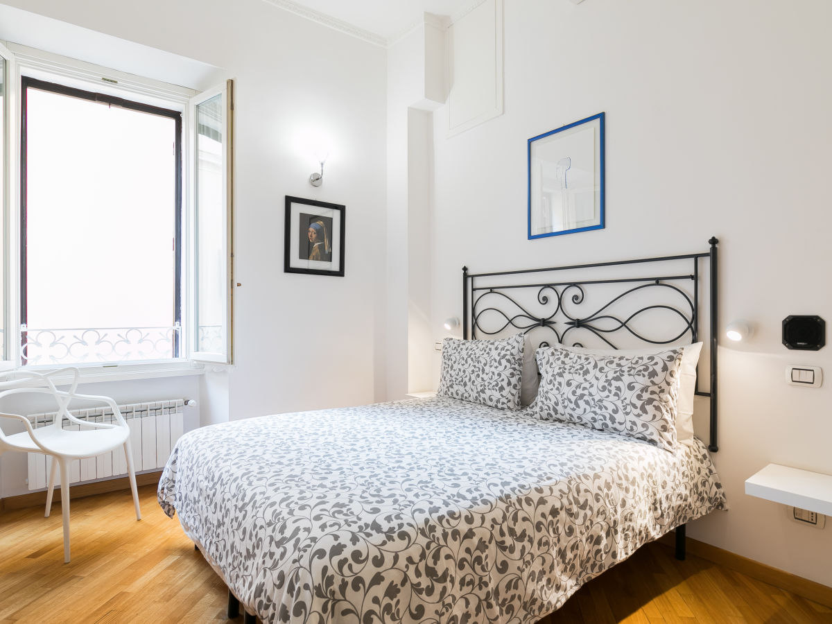 Kingsize Bett Bodhouse Design Ferienwohnung Rome Center Rom Zentrum