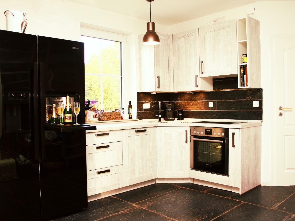 Amerikanischer Kühlschrank In Küche Integrieren : Küche mit side by side kühlschrank küchenzeile lissabon küche